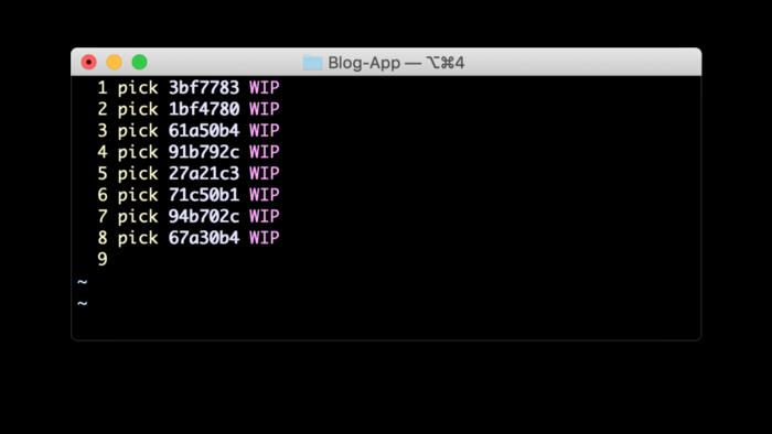 WIP Git Commit
